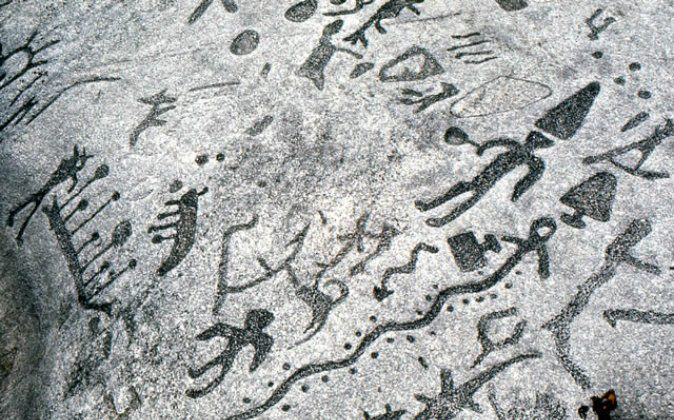 Peterborough Stone petroglyphs (Robin L. Lyke)