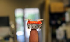 This Is the World's Smallest Drone and It's Ready to Take Off