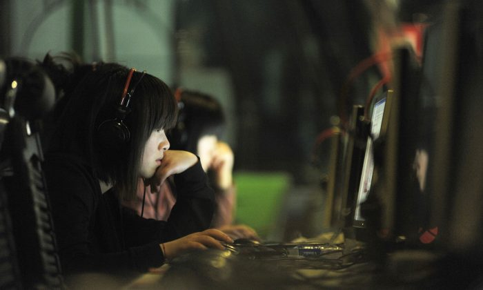 An Internet cafe in Beijing, China, on May 12, 2011. (Gou Yige/AFP/Getty Images)