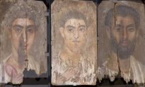 Egyptian Blue Hides in These Mummy Portraits