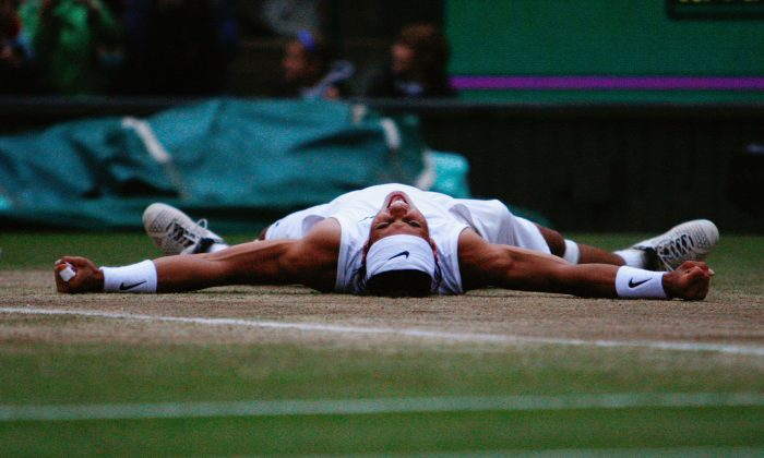 Rafael Nadal had lost the previous two Wimbledon finals to Roger Federer before prevailing in 2008. (Alessia Pierdomenico-Pool/Getty Images)