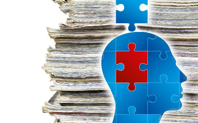 A file photo of stacked papers (The Evening/iStock) Illustration of a puzzle (ARTQU/iStock)