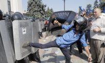 Grenade Explodes During Ukraine Clashes; 1 Officer Killed