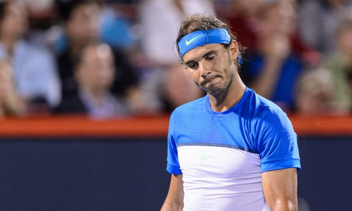 Rafael Nadal hasn't advanced past the quarters of a major since the 2014 French Open. (Minas Panagiotakis/Getty Images)
