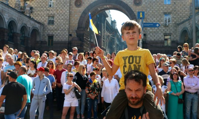 Memories of the Soviet Union are fading in Ukraine. (Nolan Peterson/The Daily Signal)