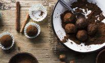 Homemade Chocolate Date Balls