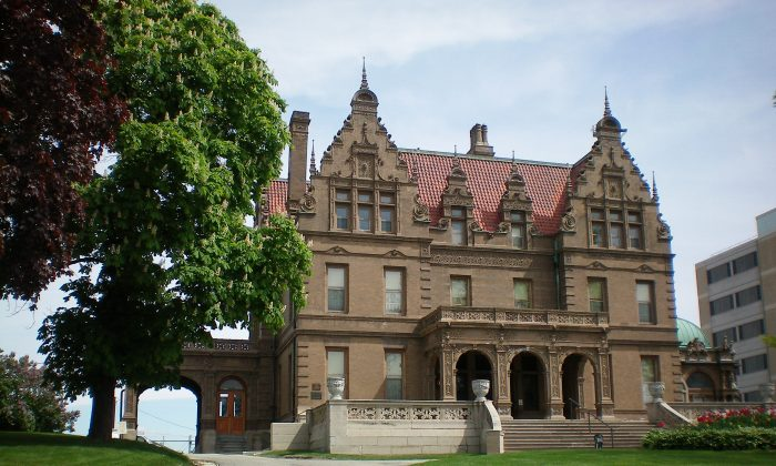 The Pabst Mansion, built in 1892 by beer tycoon Frederick Pabst, was once considered the jewel of Grand Avenue, Milwaukee's famous avenue of mansions. With over 60 residences, the avenue was heralded one of the finest residential streets in America. (Courtesy of visitmilwaukee)