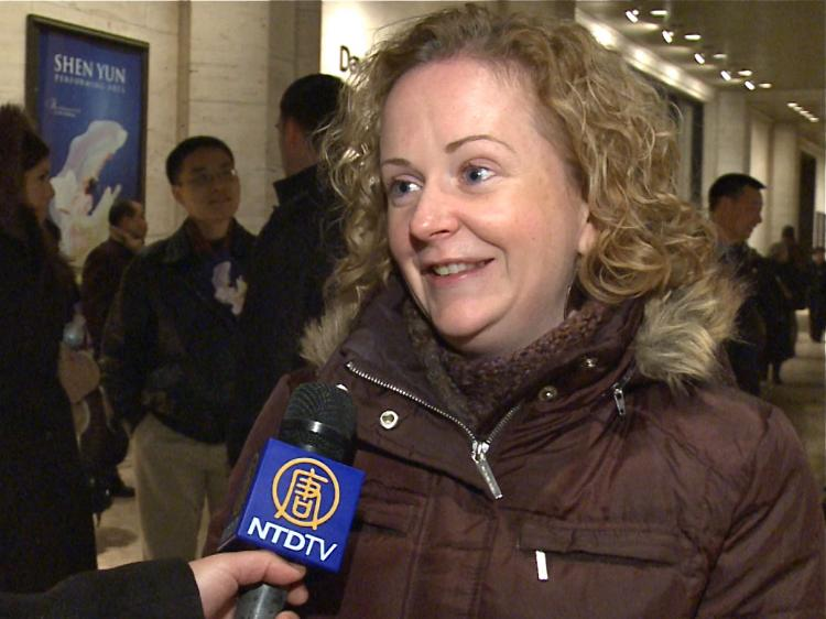 Colleen Lee was left feeling 'a connection with other human beings.' after Shen Yun. (Courtesy of NTD Television)