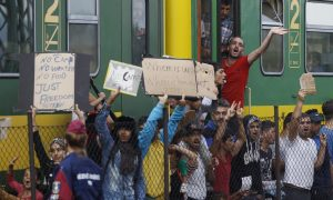 Frustration Grows Among Refugees at Hungarian Train Stations