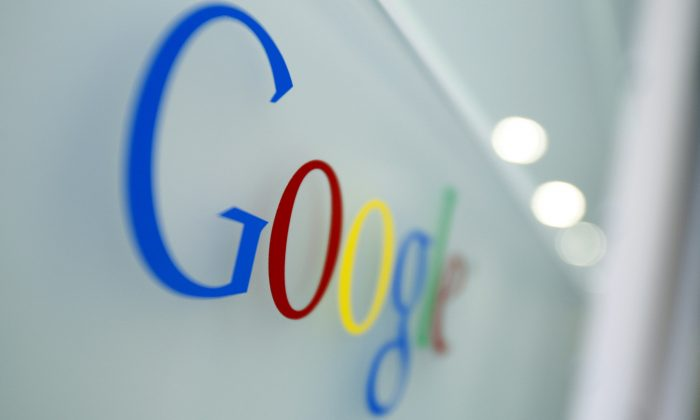 Google now has the unenviable task of redoing all iterations of its old logo. (AP Photo/Virginia Mayo)