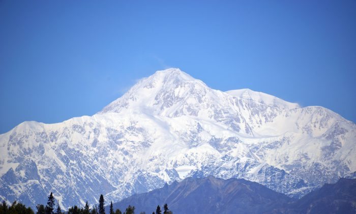 DENALI NATIONAL PARK, AK - SEPTEMBER 1: A view of Denali, formerly known as Mt. McKinley, on September 1, 2015 in Denali National Park, Alaska. (Lance King/Getty Images)