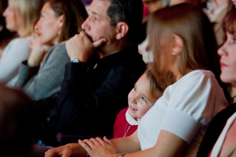 Captivated audience during the performance in Florida. (Mark Zou/The Epoch Times )