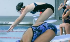 Goshen's New Varsity Swim Team Proud of Their Progress