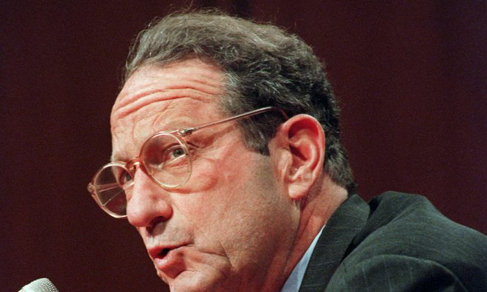 FILE - In this Sept. 19, 1996 file photo, then-CIA Director John Deutch testifies on Capitol Hill in Washington. (AP Photo/Dennis Cook, File )