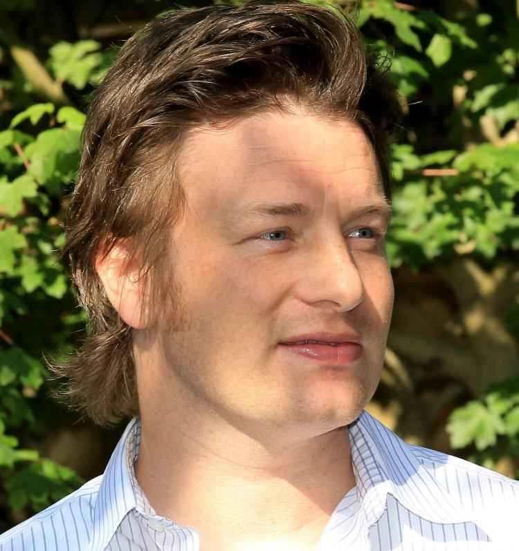 Jamie Oliver, Celebrity Chef from UK. (Chris Jackson/Getty Images )