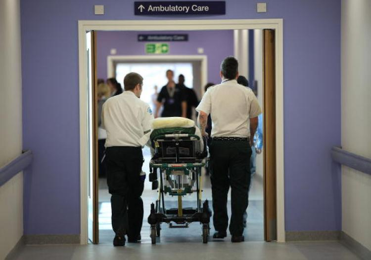 NHS is not to making cuts to services, but efficiency savings. This distinction needs to be communicated more clearly a parliamentary report said. Patients moved into the ���£545 million facility of Queen Elizabeth super hospital in Birmingham (above) on June 16th, 2010. (Photo by Christopher Furlong/Getty Images)