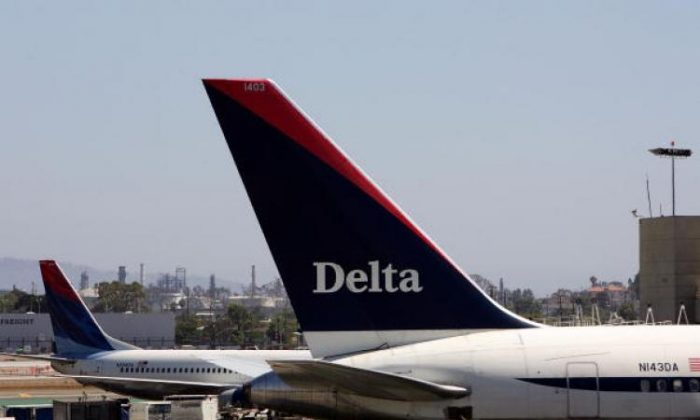 Delta Air Lines said that it would launch a new weekly service from its U.S. hub Atlanta to Monrovia, Liberia. (David McNew/Getty Images)