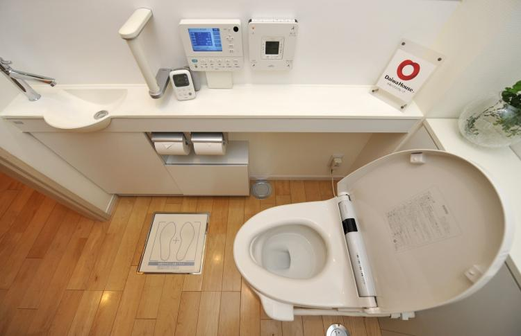 Japanese toilets have long and famously dominated the world of bathroom hygiene with their array of functions, from posterior shower jets to perfume bursts and noise-masking audio effects for the easily-embarrassed. (Kazuhiro Nogi/AFP/Getty Images)