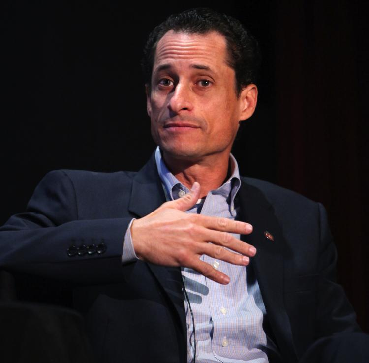 WEINER WINS: In a recent poll, Rep. Anthony Weiner (D-N.Y.) won the hypothetical vote for New York City mayor.  (Amy Sussman/Getty Images the New Yorker)