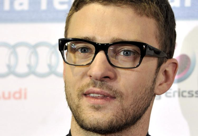 Justin Timberlake at 'The Social Network' photo call on Oct. 6. (Carlos Alvarez/Getty Images)