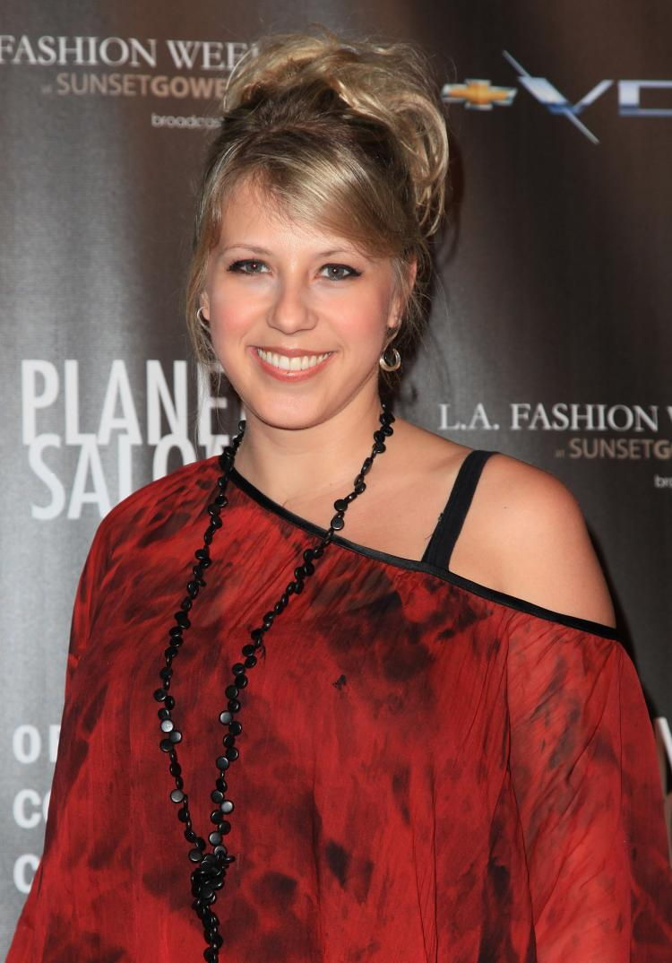 Jodie Sweetin, who rose to fame as a child star on the 1990s sitcom Full House, received an engagement ring at her birthday party on Tuesday, Jan. 18. The actress turned 29 on Wednesday, Jan. 19.  ( Angela Weiss/Getty Images)