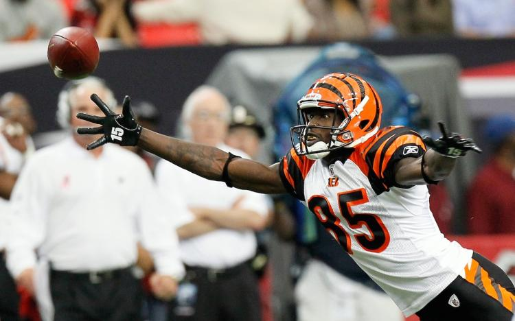 Chad Ochocinco #85 of the Cincinnati Bengals announced on Wednesday that he is changing back to the name he was born with, ESPN and other media report.  (Kevin C. Cox/Getty Images)