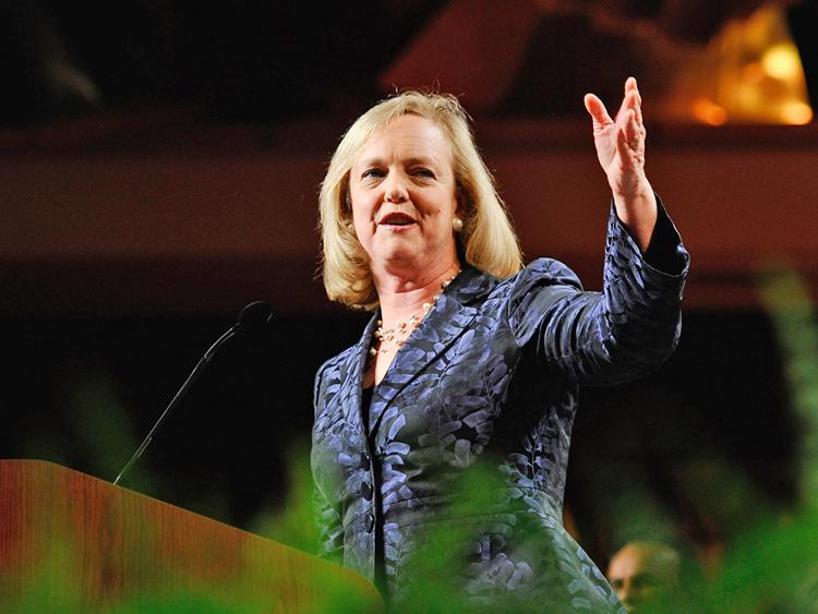 California gubernatorial candidate and former eBay CEO Meg Whitman at a campaign party on November 2, 2010 in Universal City, California. Recently Whitman has confirmed she's joined venture capital firm Kleiner Perkins Caufield & Byers.  (Kevork Djansezian/Getty Images)