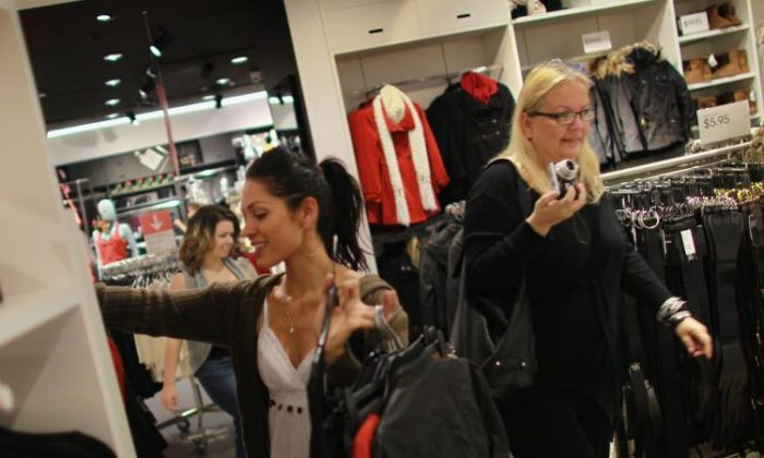 The inside of an H&M store in Florida in a file photo. (Joe Raedle/Getty Images)