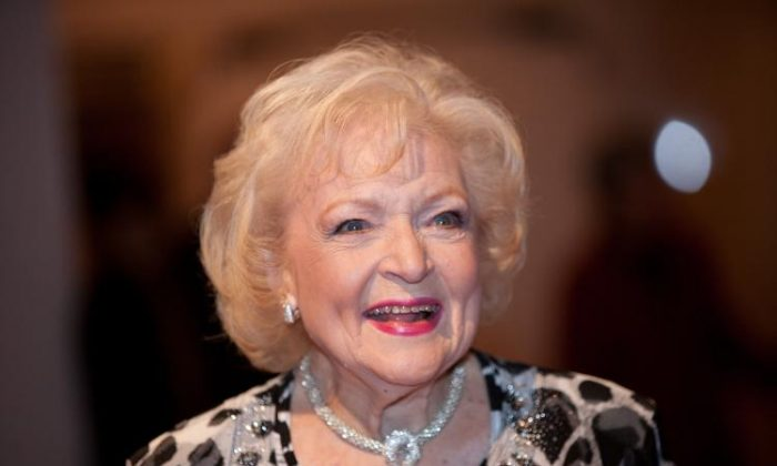 Betty White was voted Entertainer of the Year 2010 by Associated Press members.    (Brendan Hoffman/Getty Images)