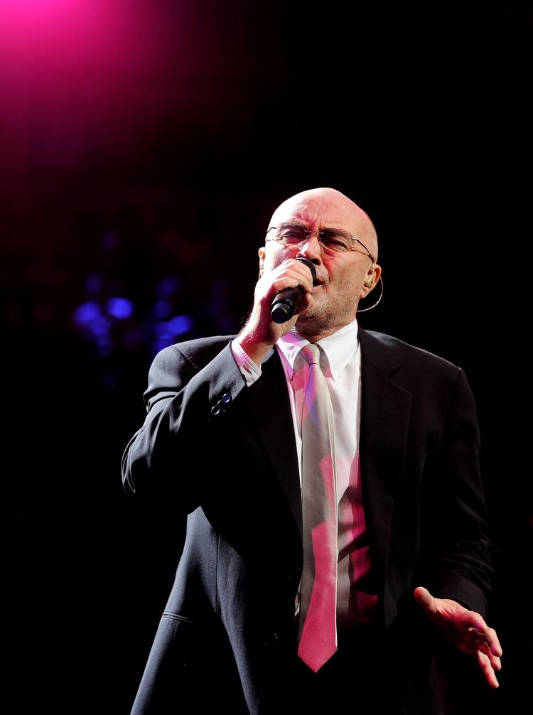 Phil Collins performs at The Prince's Trust Rock Gala 2010 supported by Novae at the Royal Albert Hall on Nov. 17, 2010 in London. (Ian Gavan/Getty Images)