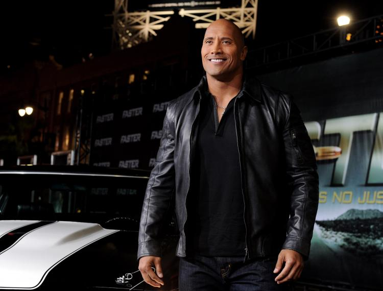 410d3b72f Dwayne Johnson: Dwayne 'The Rock' Johnson Returns to the Wrestling World