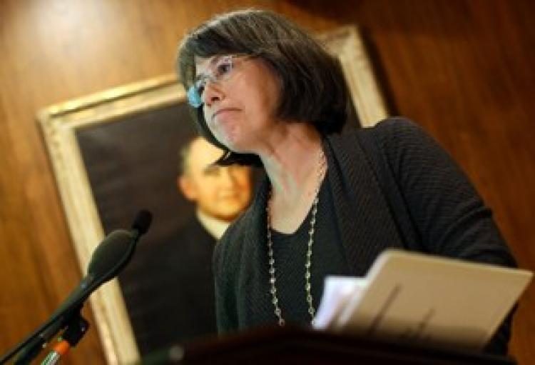 FDIC Head Holds Briefing On 3rd Quarter Earnings Of Bank. (Win McNamee/Getty Images)