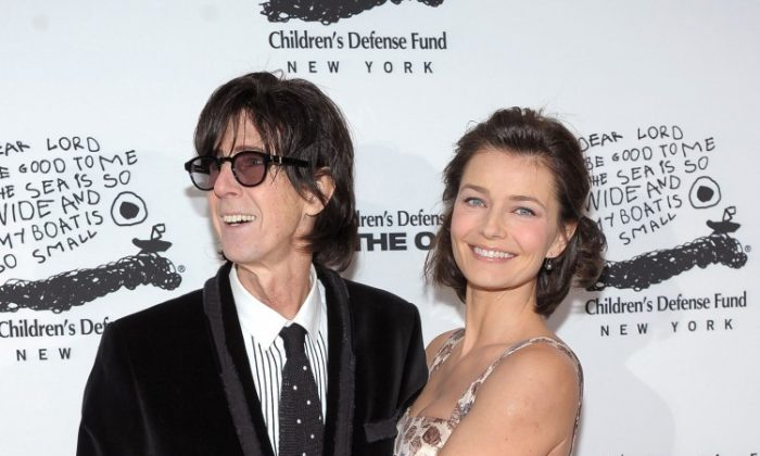 Musician Ric Ocasek and model Paulina Porizkova attend the 20th Anniversary Celebration of the Children's Defense Fund's Beat the Odds Program at Guastavino's on December 6, 2010 in New York City. (Michael Loccisano/Getty Images)