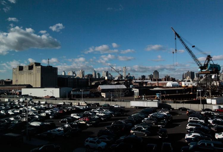 The Brooklyn Navy Yard is seen December 8, 2010