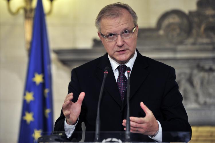 Economics Affairs Commissioner Olli Rehn (ARIS MESSINIS/AFP/Getty Images)