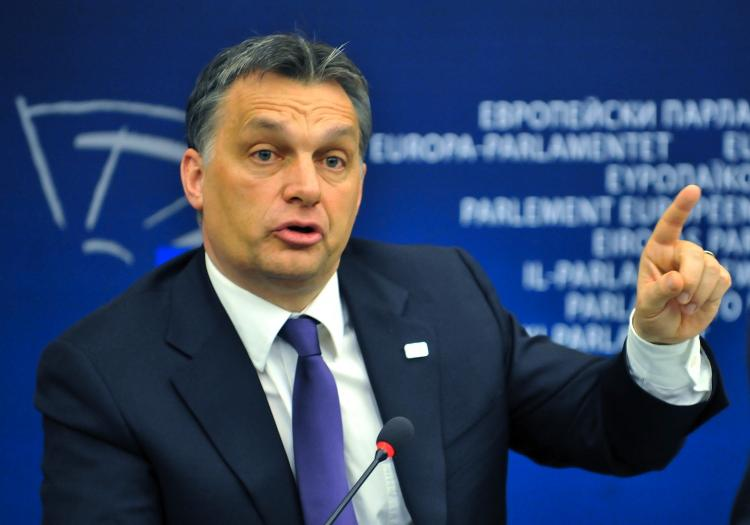 Hungarian Prime Minister Viktor Orban.  (Georges Gobet/Getty Images)