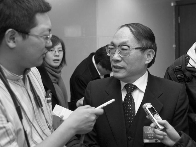 former railway minister Liu Zhijun