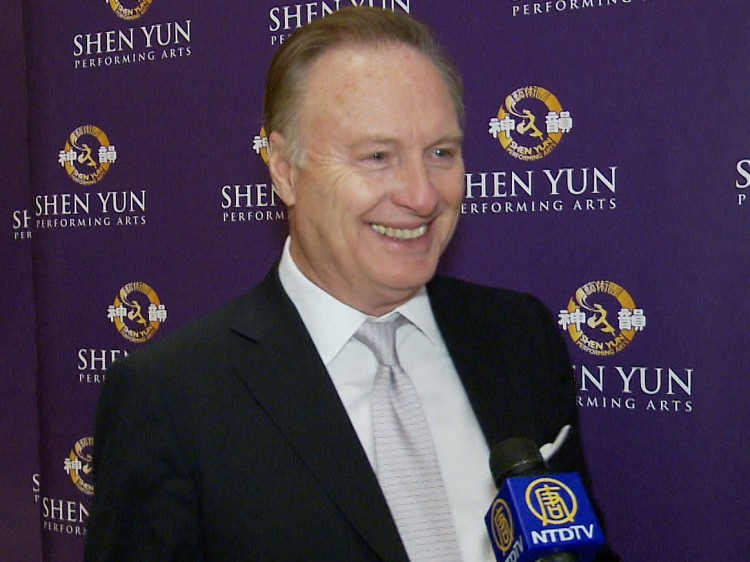 Stephen L. Norris talks about his Shen Yun Performing Arts experience