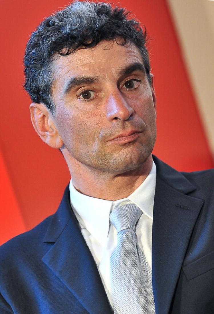 This file picture taken on July 5, 2010 at Villa Madama in Rome shows Italian CEO of Ferrero International, Pietro Ferrero, during a ceremony for the 'Winning Italy Award.' Pietro Ferrero died while riding his bike on April 18, in South Africa. (Andreas Solaro/AFP/Getty Images)