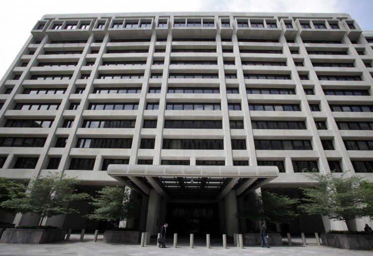 The International Monetary Fund (IMF) headquarters in Washington DC