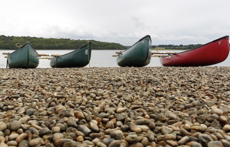 Boats  Bewl Water in Kent,2011