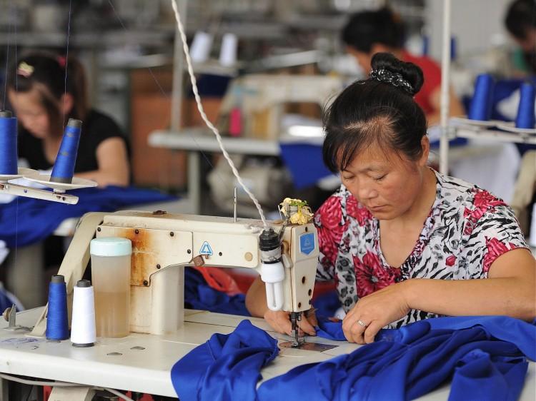 a clothes factory