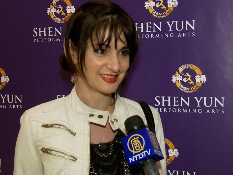 Actress and filmmaker Yelena Sable shares her Shen Yun