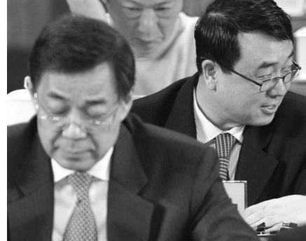 Bo Xilai (L) and Wang Lijun (R)