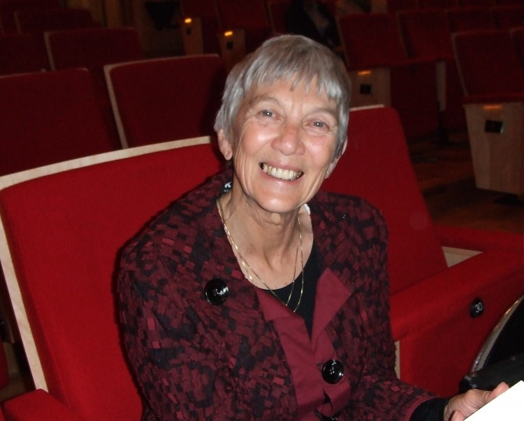 Vivian Naylor was delighted with Shen Yun