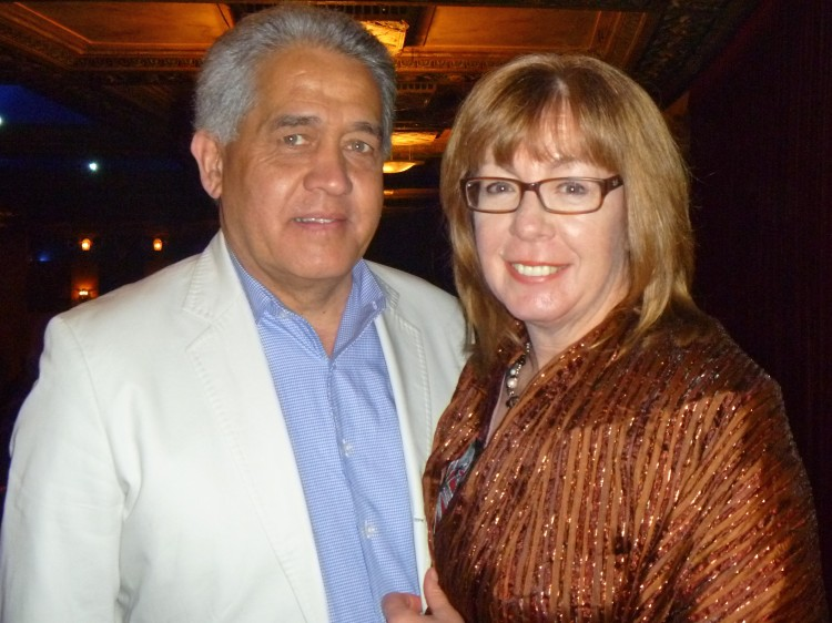 Chuck Morgan and Janet Seidel attend Shen Yun
