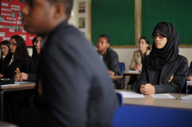 diversity of London school pupils