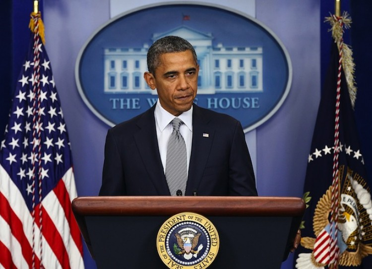 U.S. President Barack Obama speaks in Washington, D.C., Oct. 21, from the briefing room of the White House. Obama announced that all U.S. troops will leave Iraq before the end of the year. (Win McNamee/Getty Images)