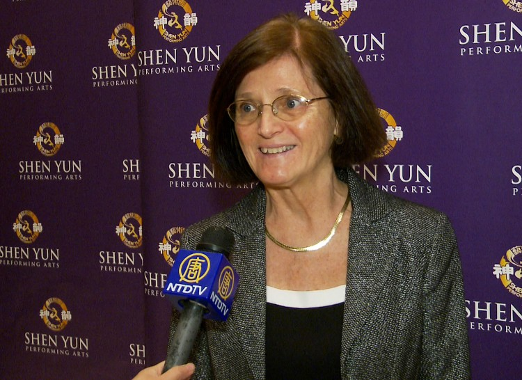 Mary Brautigam attends Shen Yun