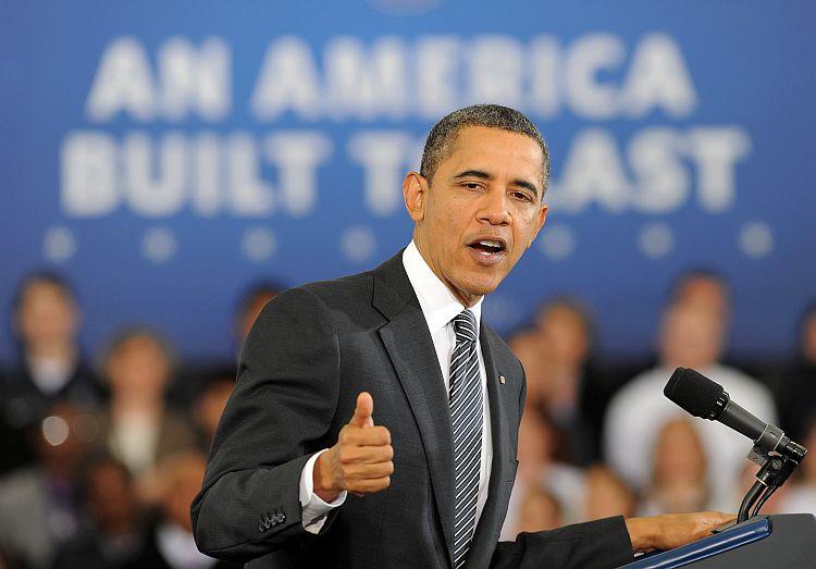 President Barack Obama speaks on his 2013 budge